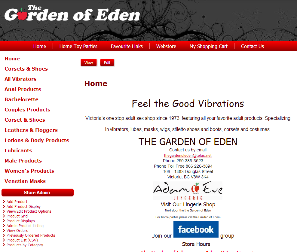 The Garden Of Eden screenshot