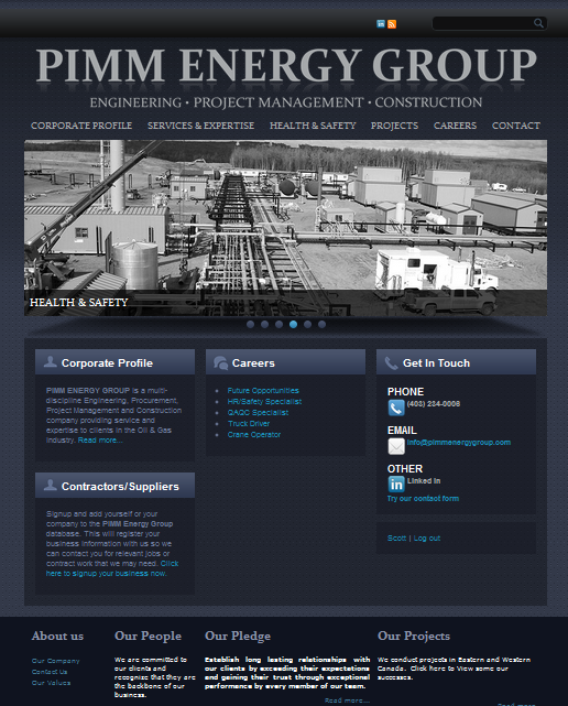 PIMM ENERGY GROUP
